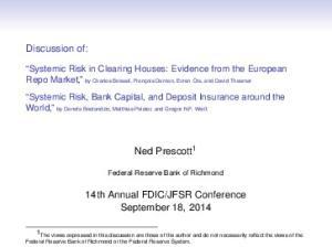 JFSR Conference September 18, 2014