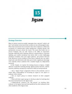 Jigsaw. Strategy Overview