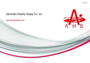 jinomoto Healthy Supply Co., Inc