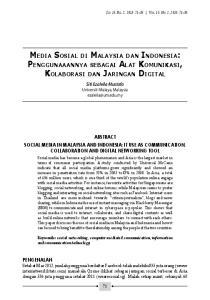 Jld. 15, Bil. 2, 2013: Vol. 15, No. 2, 2013: Siti Ezaleila Mustafa Universiti Malaya, Malaysia