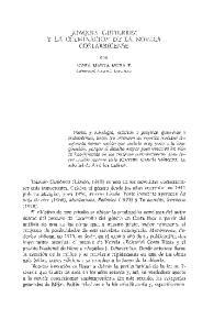 JOAQUIN GUTIERREZ Y LA CULMINACION DE LA NOVELA COSTARRICENSE