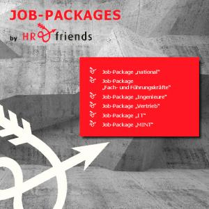 JOB-PACKAGES. Job-Package national Job-Package Fach- und Führungskräfte Job-Package Ingenieure Job-Package Vertrieb Job-Package I T Job-Package MINT