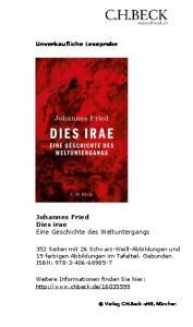 Johannes Fried Dies irae Eine Geschichte des Weltuntergangs