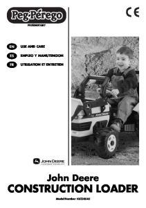 John Deere CONSTRUCTION LOADER