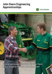 John Deere Engineering Apprenticeships
