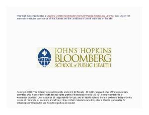 John McGready Johns Hopkins University. Multiple Logistic Regression