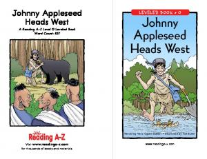 Johnny Appleseed Heads West