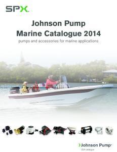Johnson Pump Marine Catalogue 2014