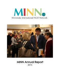 Join us! Volunteer for MINN: