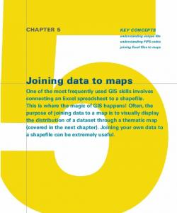 Joining data to maps. Chapter 5