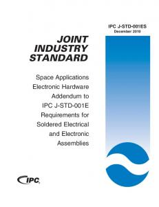 JOINT INDUSTRY STANDARD