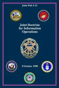 Joint Pub Joint Doctrine for Information Operations