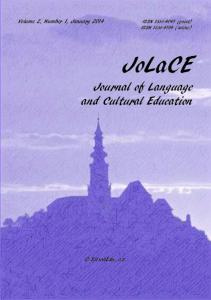JoLaCE Journal of Language and Cultural Education