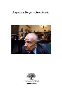 Jorge Luis Borges Anecdotario