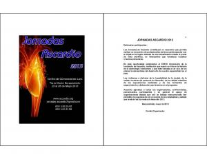 JORNADAS ASCARDIO 2013