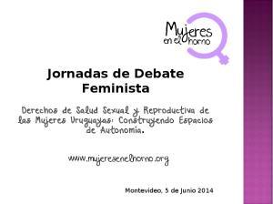 Jornadas de Debate Feminista