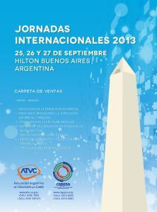 JORNADAS INTERNACIONALES 2013