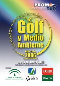 JORNADAS INTERNACIONALES DE GOLF Y MEDIO AMBIENTE