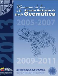 Jornadas Nacionales de Geomática