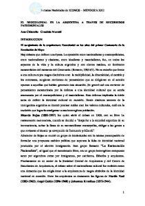 Jornadas Nacionales de ICOMOS MENDOZA 2012