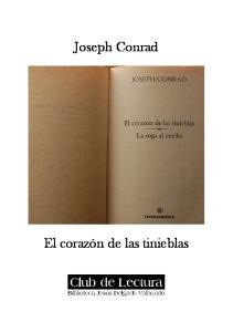 Joseph Conrad. El corazón de las tinieblas