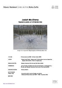 Josiah McElheny Espacio para un Universo Isla