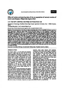 Journal of Applied and Natural Science 6 (2): (2014)