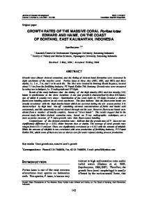 Journal of Coastal Development ISSN: