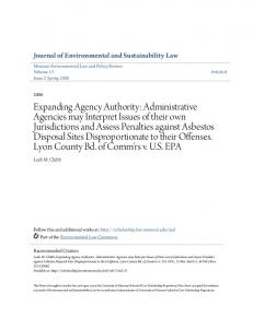 Journal of Environmental and Sustainability Law