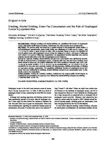 Journal of Epidemiology Vol. 16, No. 5 September 2006
