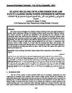 Journal of Kerbala University, Vol. 10 No.2 Scientific Abstract: