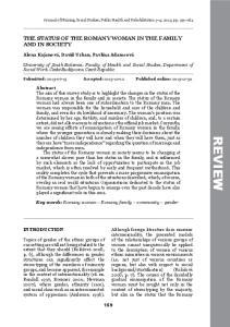 Journal of Nursing, Social Studies, Public Health and Rehabilitation 3 4, 2013, pp