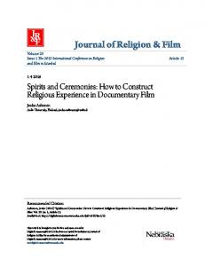 Journal of Religion & Film