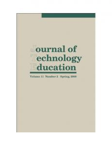 Journal of Technology Education
