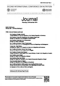 Journal. Thursday, 20 November 2014