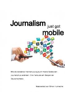 Journalism just got mobile