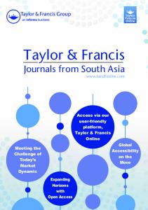 Journals from South Asia