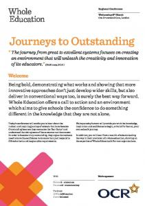 Journeys to Outstanding