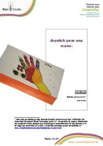 Joystick para una mano