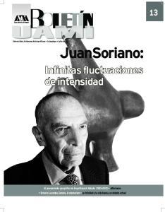 JuanSoriano: Infinitas fluctuaciones de intensidad