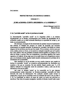 JUBILACIONES: CUENTA REGRESIVA A LA MISERIA *