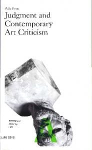 Judgment and Contemporary Art Criticism