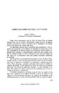 Judith Astelarra (Universitat Autbnoma de Barcelona)