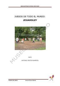 JUEGOS DE TODO EL MUNDO: ECUAVOLEY