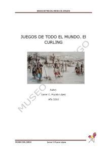 JUEGOS DE TODO EL MUNDO. El CURLING