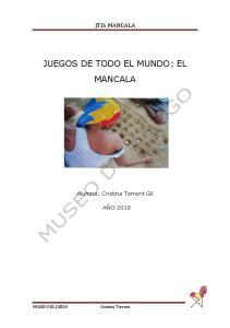 JUEGOS DE TODO EL MUNDO: EL MANCALA