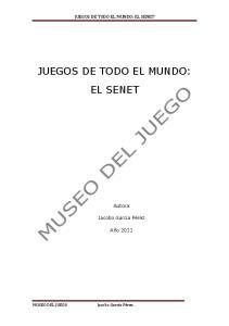 JUEGOS DE TODO EL MUNDO: EL SENET