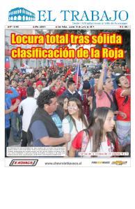 Jueves 19 de Junio de 2014 EL TRABAJO 1