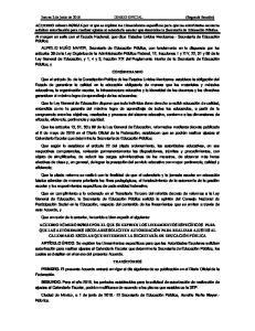 Jueves 2 de junio de 2016 DIARIO OFICIAL (Segunda Sección)