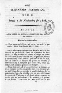 Jueves 3 de Noviembre de 1808